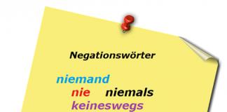 nemačke negacije