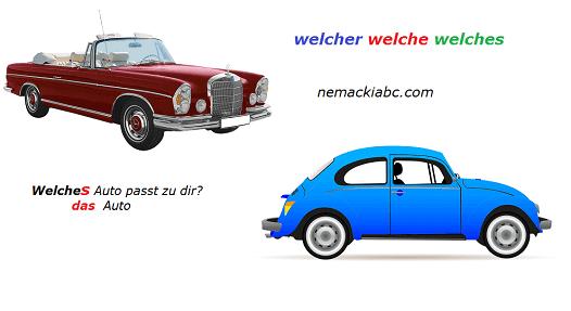 nemačke upitne zamenice