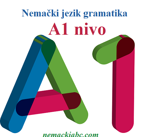 nemački A1 gramatika