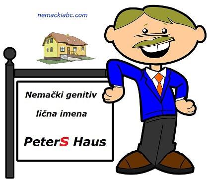 nemački genitiv imena