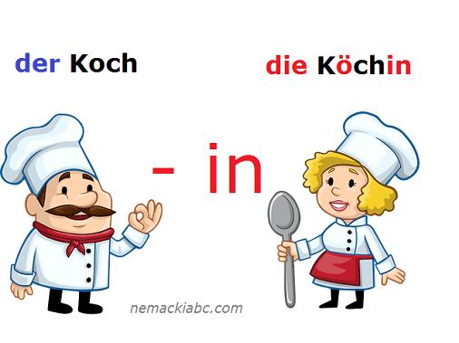nemački nastavak imenice