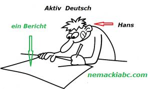 nemački pasiv-aktiv