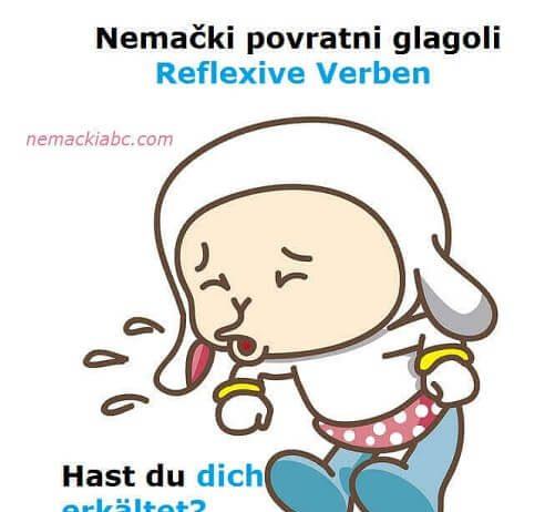 nemački povratni glagoli