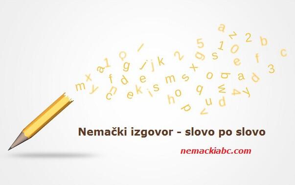 nemačka abeceda