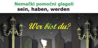 nemacki pomocni glagoli sein haben werden