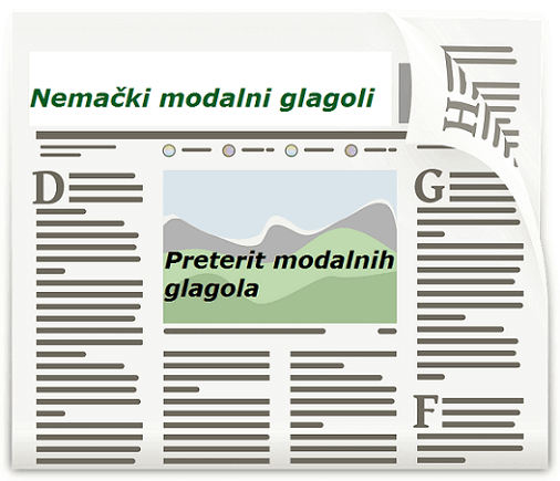 preterit nemački modalni glagoli