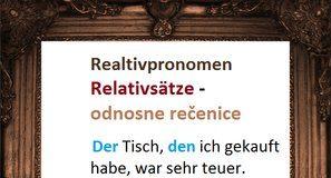 Relativpronomen odnosne zamenice