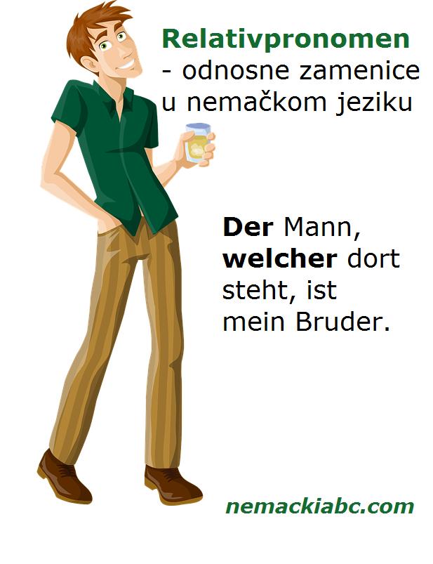 Relativpronomen odnosne zamenice u nemačkom