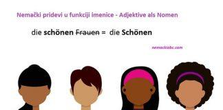 nemački pridevi kao imenice