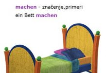 machen značenje nemački