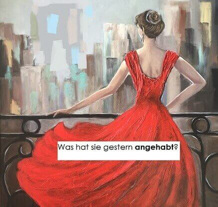 haben nemački glagol