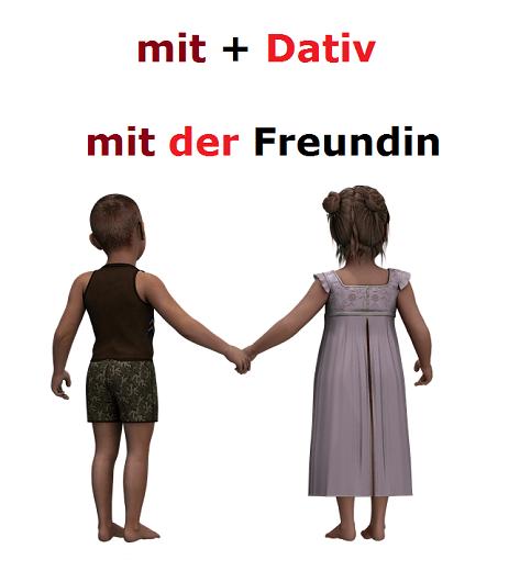 mit ohne nemački predlozi