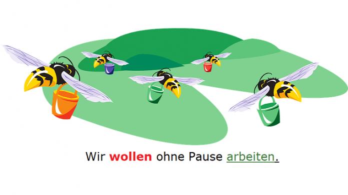 wollen nemački modalni glagol