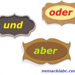 nemački veznici